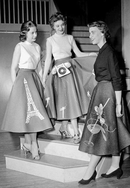 Poddle skirts